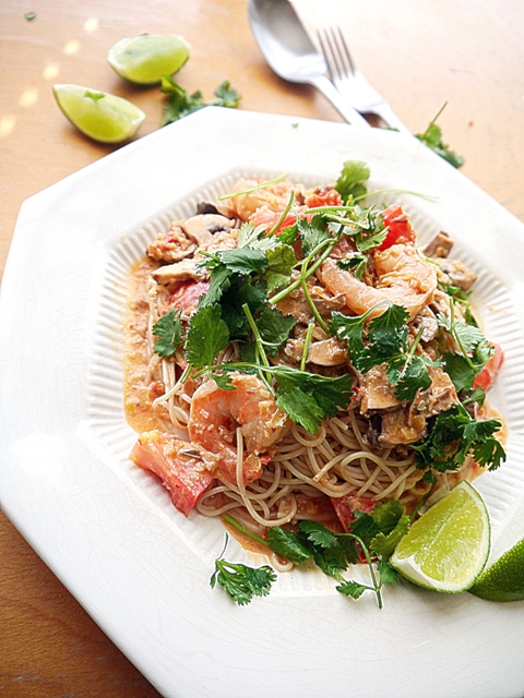 Tom Yum Spaghetti Recipe
