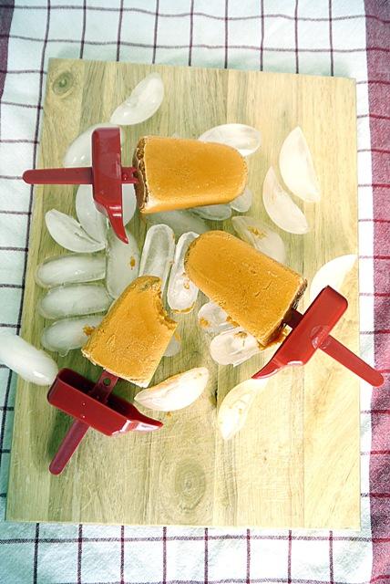Thai Milk Tea Popsicles | Cha Yen Popsicles