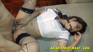 Good Thai Girl Refuses Payment For Bondage Sex