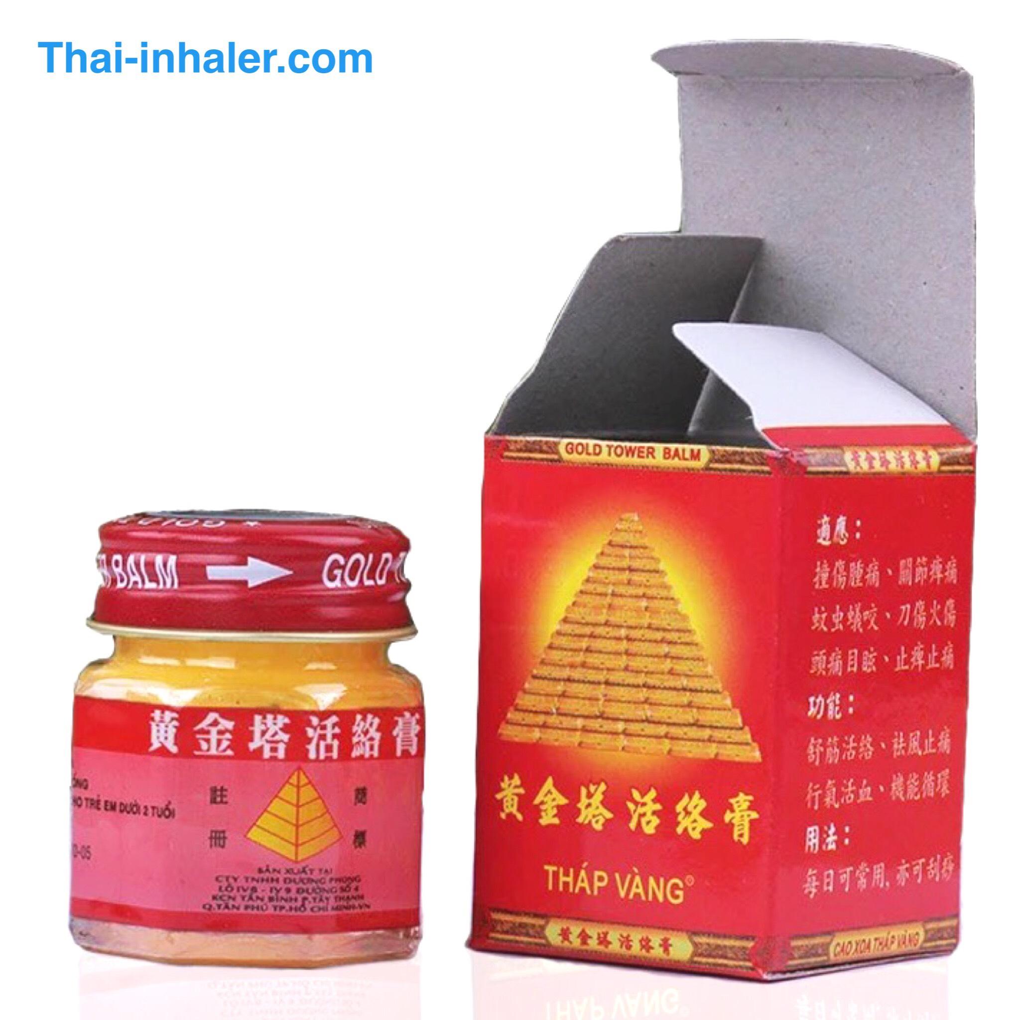 Taisho Counterpain Thailand Analgesic Balm 120 Grams 120g Gold Tower Vietnam Ointment 20 1 Piece
