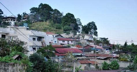 Stadtbild von Doi Mae Salong, Thailand