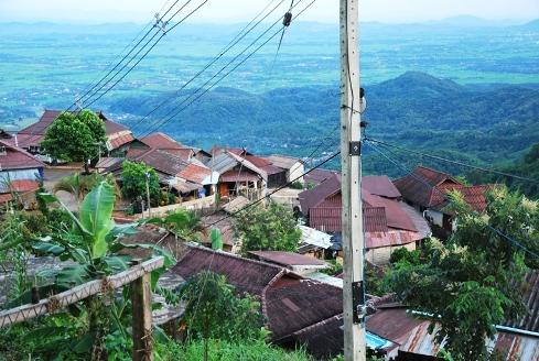 Doi Tung, Akha-Dorf in der Nähe des Königlichem Entwicklungsprojekts