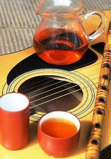 Dian Hong Black & Golden Needle Guitar Gong Fu Cha