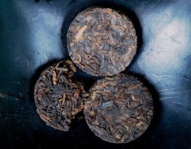 Gepresster Shu Puer Tee aus Yunnan