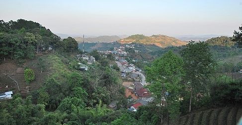 Blick über Doi Mae Salong, Nordthailand