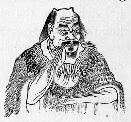 Shennong - Urvater der Entdeckung von Tee als Getränk , beim Experimentieren mit Kräutern