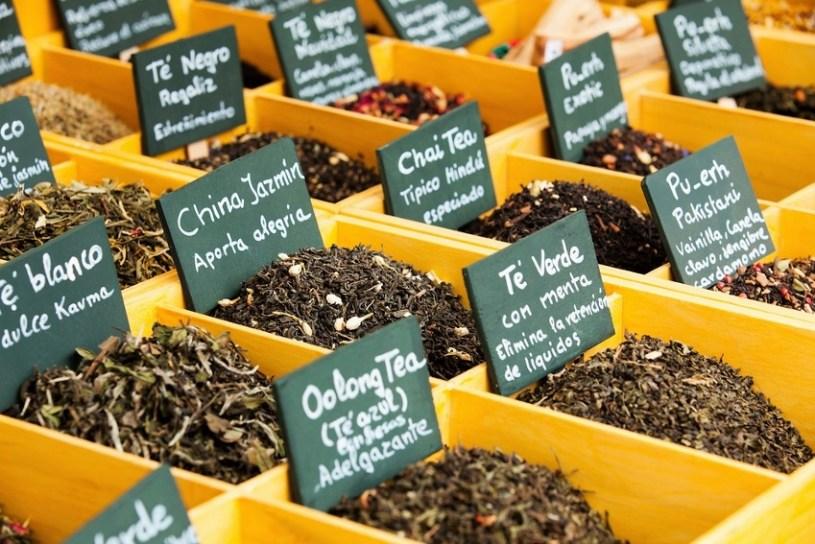 Der Preis des Tees - Tee-Display im Einzelhandel
