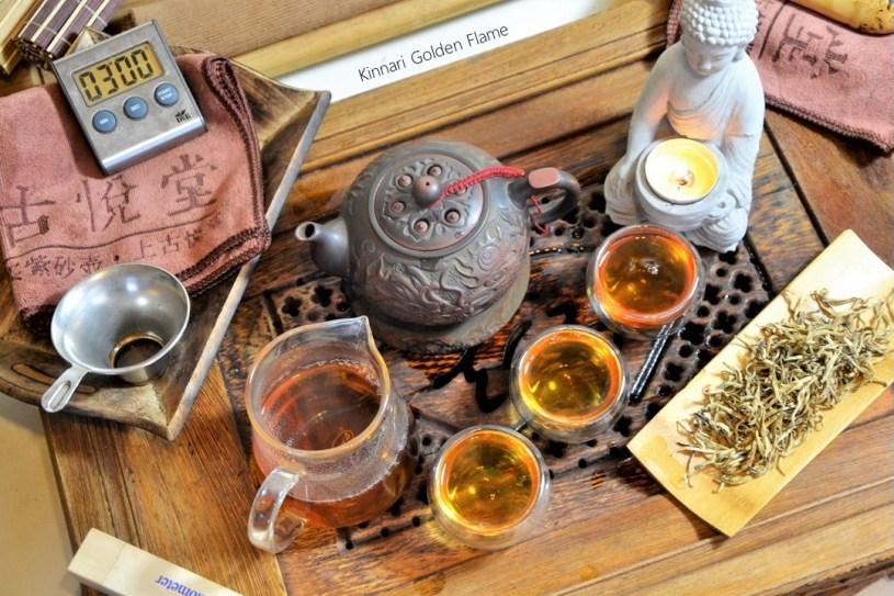 Kinnari Golden Flame Schwarzer Tee - von alten Teebäumen in Xiengkhouang, Laos