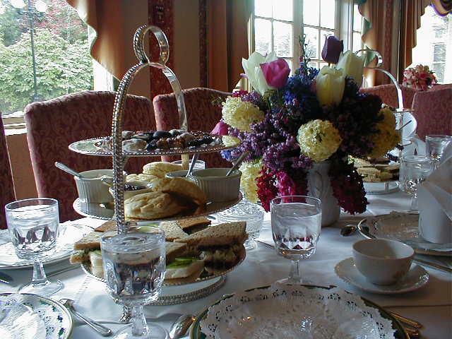Britische Teekultur - High Tea