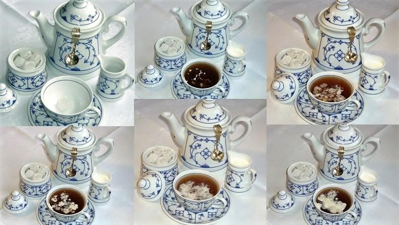 Ostfriesiche Teezubereitung / Ostfriesische Teezeremonie