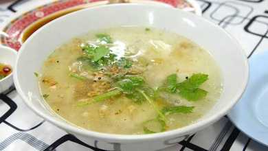 Khao Tom recipe, Thai rice soup