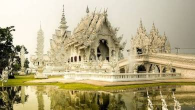 Le Wat Rong Khun, temple blanc de Chiang Rai (The White Temple)