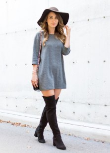 look-shirt-dress-over-the-knee-street-style