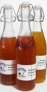 kombucha bottles