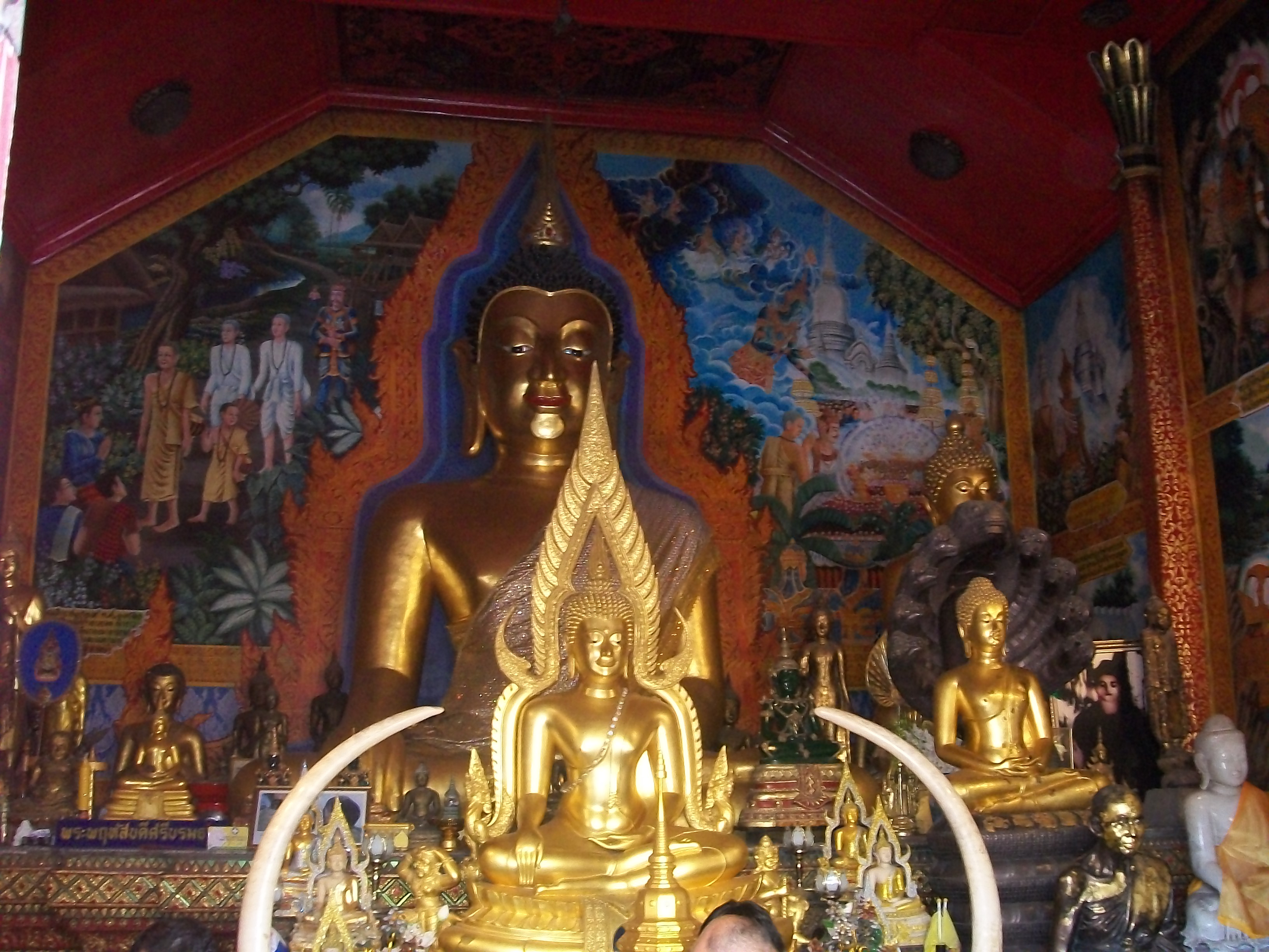 Doi Suthep temple in Chian gmai
