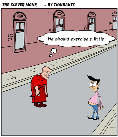 The clever monk