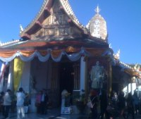 Wat Yai in Phitsanulok Thailand - main entrance
