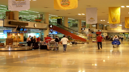 Don Muang International arrivals
