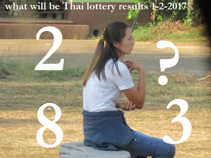 What will be Thai lottery results on 1-2-2017