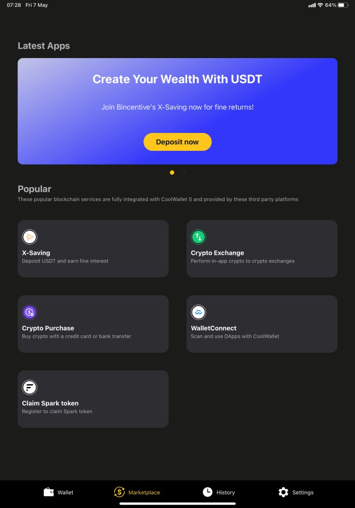 Coolwallet S Mobile App