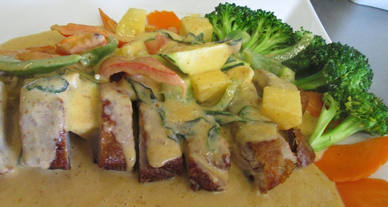 Roasted Duck Curry Thai Spice Restaurant