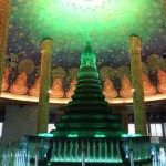 バンコクのフォトジェニックな寺院【ワットパクナム】