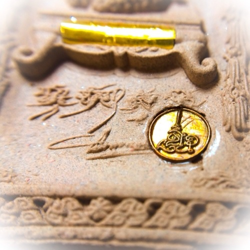 Special Look Namo Slug with magic spell is inserted into the amulet