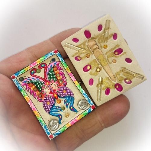 Taep Jamlaeng Butterfly King Amulet Pim Yai Kroo Ba Krissana Intawano Sae Yid 60