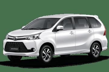Toyota Avanza in white