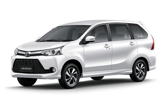 Toyota Avanza in white