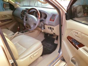 2008 2009 2010, 2011 Toyota Hilux Vigo Minor Change Model interior view