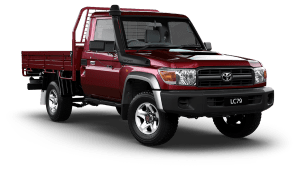 Toyota Land Cruiser LC79 Single Cab Chassis GX
