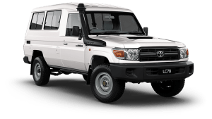 Toyota Land Cruiser LC78 Troop Carrier Workmate