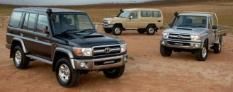 Toyota Landcruiser 70 Pickup, Hardtop and Wagon