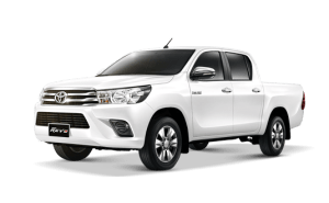 Toyota Hilux Revo Double Cab available in Super White