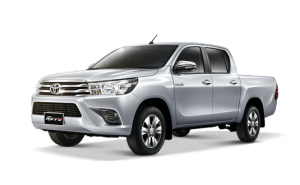 Toyota Hilux Revo Double Cab available in Silver Metallic