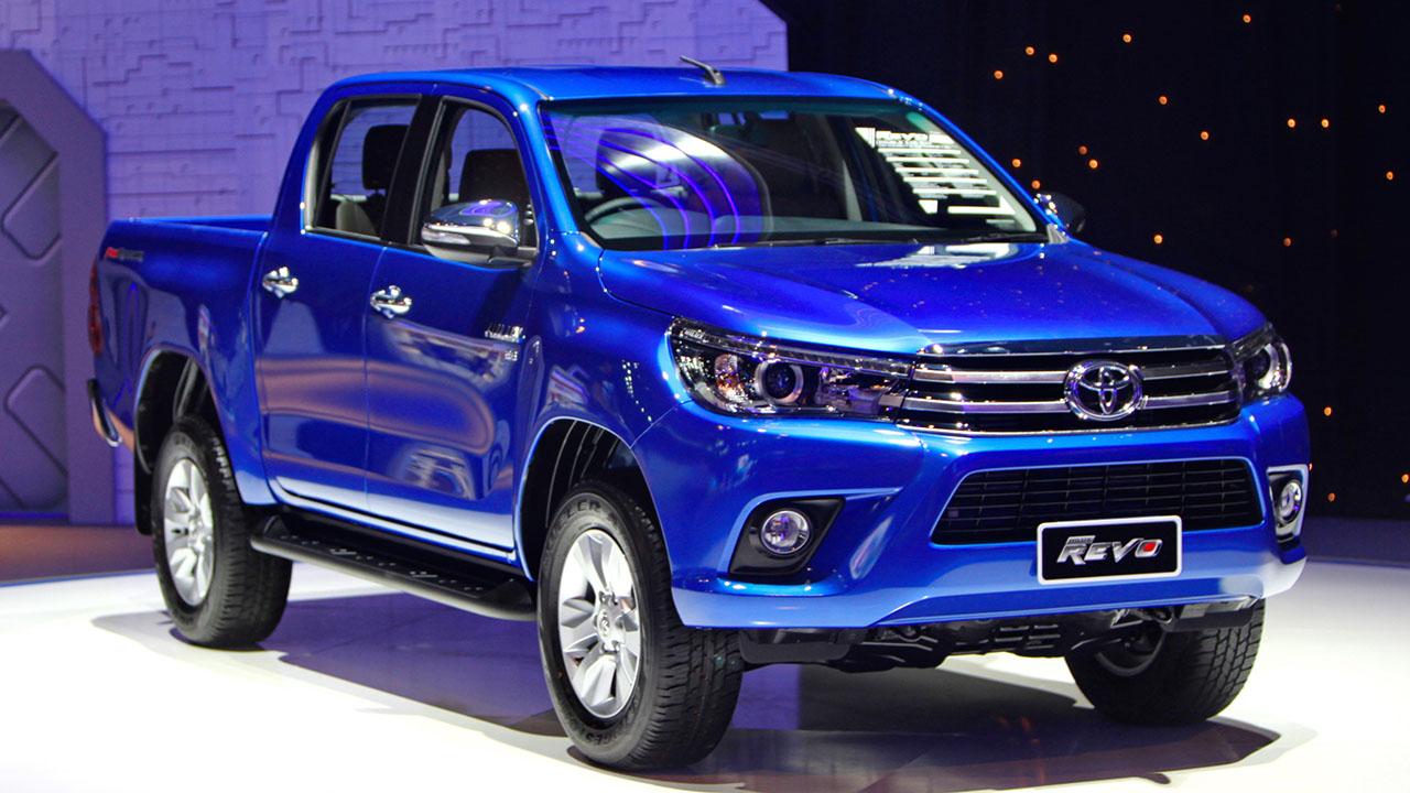 2016 Toyota Hilux Revo TRD Sportivos side at 2016 BIMS - Indian ...