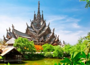 Sanctuary of truth Pattaya attractions