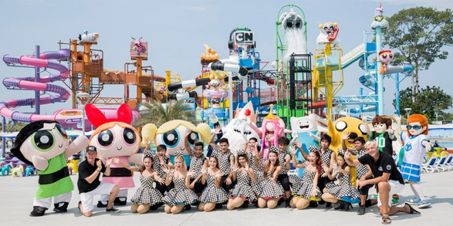 Image result for Cartoon Network Water Park in Pattaya