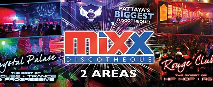 Mixx Discotheque Pattaya walking street