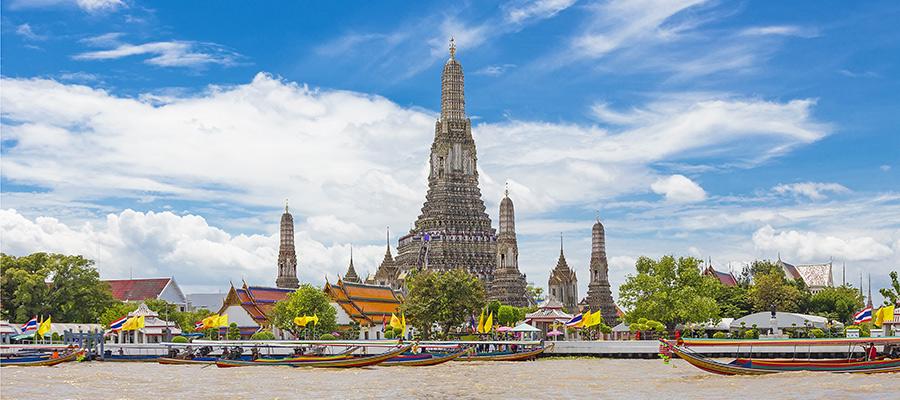 Cultural river cruise Bangkok