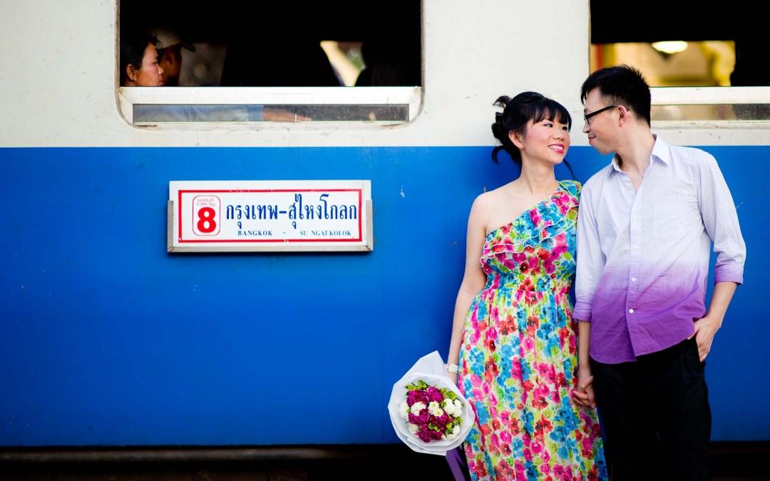 Thailand Hua Hin Pre-Wedding | Raya Resort Cha-Am & Hua Hin Railways Station