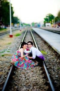 Thailand Hua Hin Railways Station Wedding Photography   NET-Photography Thailand Wedding Photographer
