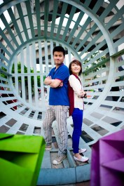 Bangkok, Thailand - Engagement sessions of a lovely couple from China.
