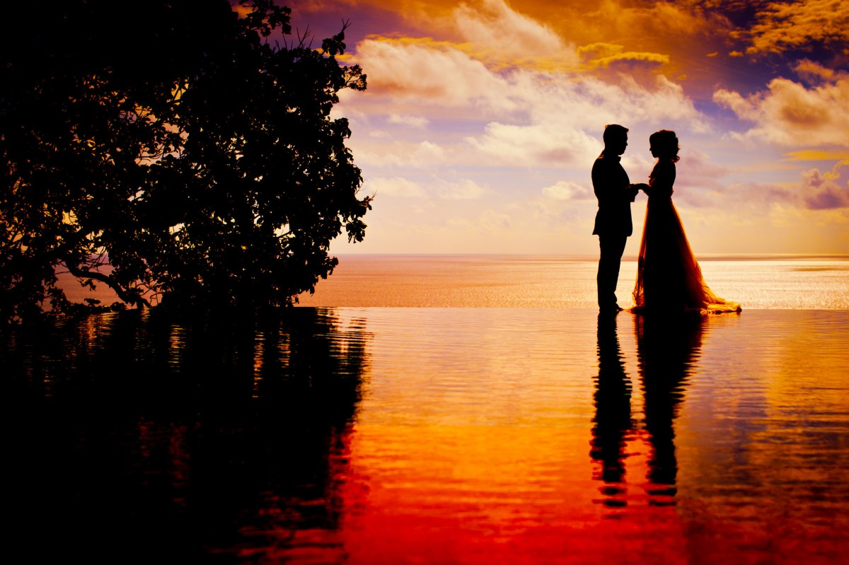 Photo of the Day: Sunset Pre Wedding