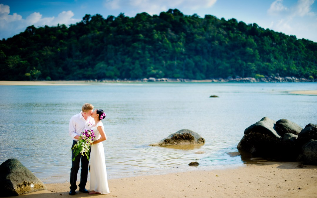 Phuket Post Wedding Photography: Thuy and Patric from Germany