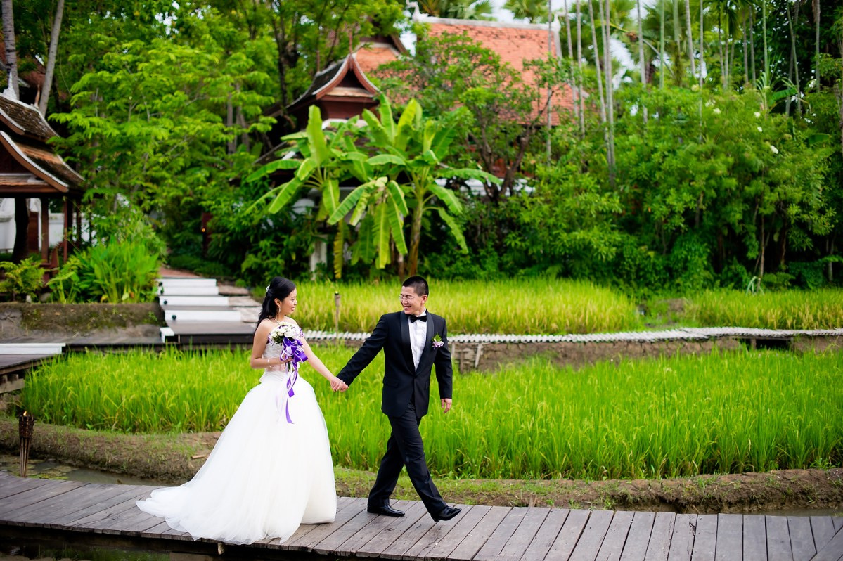 Chiang Mai Thailand Wedding Photography: The Dhara Dhevi Wedding (Mandarin Oriental Dhara Dhevi)