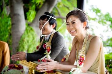Nummon & Chitchai's Traditional Thai engagement ceremony and wedding reception at Anantara Bangkok Riverside Resort and Spa. NET-Photography | Thailand Wedding Photographer info@thailand-wedding-photographer.com http://thailand-wedding-photographer.com