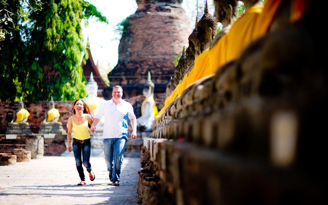 Bangkok & Ayutthaya Pre-Wedding Thailand (Engagement Session)