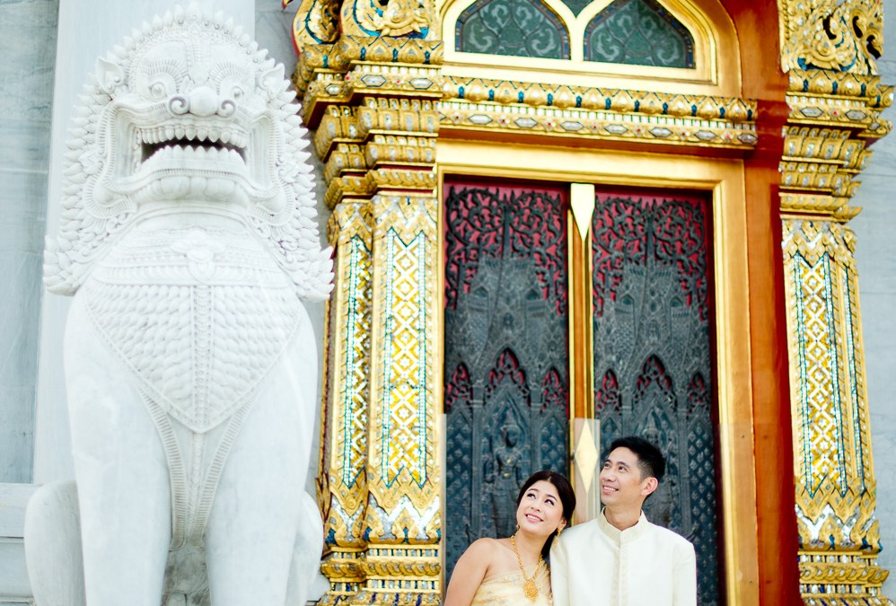 Preview: Pre-Wedding at Marble Temple in Bangkok Thailand
